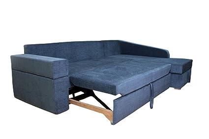 Adorn India Comfort Line Corner Cumbed Five Seater Sofa (Grey)
