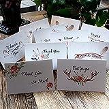 サンキューカード , クリスマス カード グリーティングカード 10種類 封筒付き メッセージカード Thank You Cards 40枚入り セット SPH-058-1-B