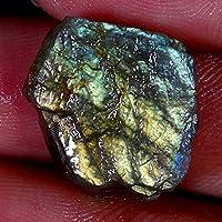 RADHEY KRISHNA GEMS 21.25CTS 100% naturale blu labradorite Spicemen Rough cabochon sciolto pietre preziose a +