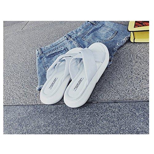 Zapatos 0 Moda de o Verano 6 Sandalias Desgaste Femenina de Deportivas Zapatillas Tama de SwqRtqp
