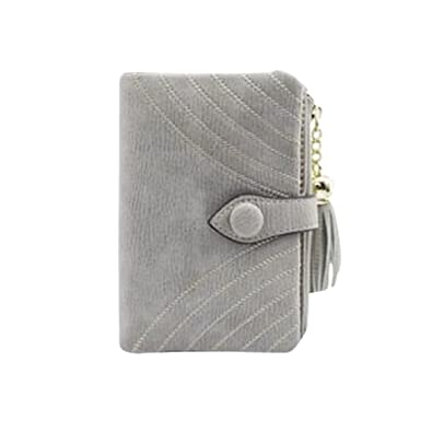 66c1e35044c0 HeySun Ladies Vintage Designer Money Clip Bifold Wallet Credit Card ...