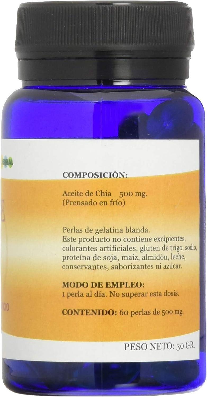 Alfa Herbal Aceite de Chia 60 Perlas - 1 unidad: Amazon.es ...