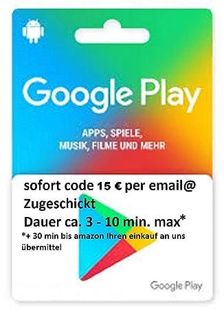Amazon.com: Google Play - Tarjeta de regalo 15Dó ...