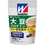 森永製菓 ウイダー おいしい大豆プロテイン コーヒー味 240g