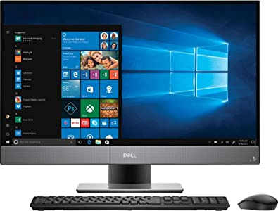 Dell Inspiron 7777 All In one Desktop Intel Core i7-8700T,12GB RAM, 1TB HDD,27-Inch FHD AntiGlare Touch Display,Integrated Graphics,Win 10,KB-Mouse