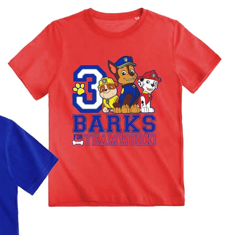 La Pat  Patrouille - Camiseta de manga corta - para niño 5cc1bc8592c