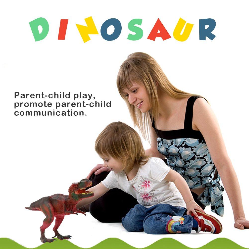 Tyrannosaurus Rex Kinder Dinosaurier Schleich Triceratops Groß Figuren Set