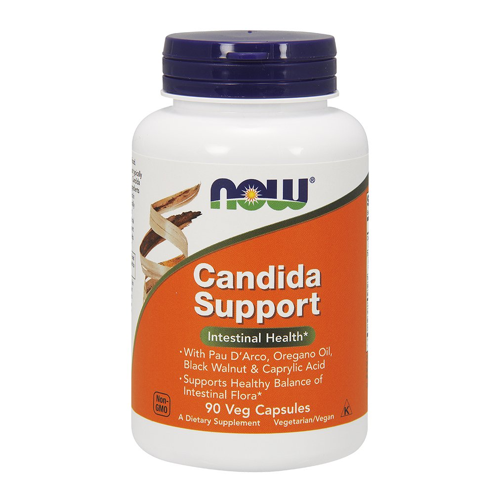 NOW Candida Support 180 Capsules Image 3