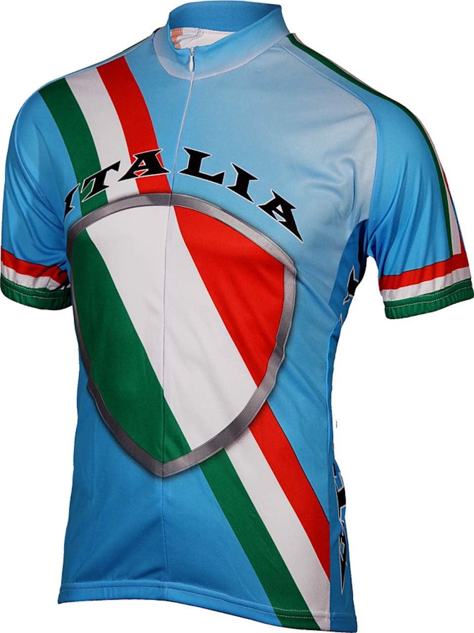 BDI Mens Italy Cycling Jersey
