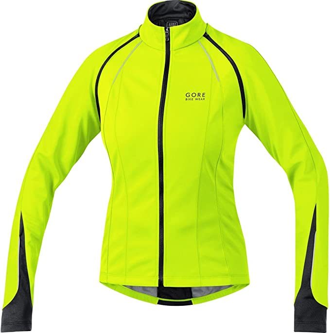 GORE Bike PHANTOM 2.0 Windstopper® Soft Shell Jacket neon