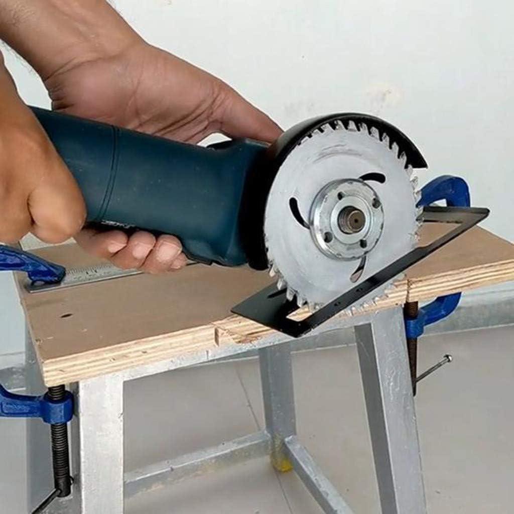 LUCOG Accessoires sp/éciaux de d/écoupeuse de meuleuse dangle de support de coupe de meuleuse dangle