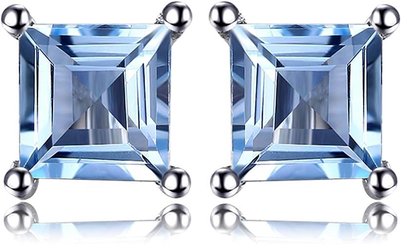 Femmes 925 Sterling Argent Massif Rubis /& Blanc Saphir Solitaire accents anneau
