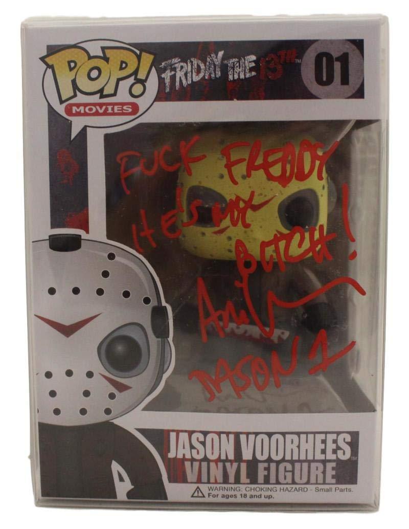 Ari Lehman Autographed Friday The 13th Jason Funko Pop 01'F' Freddy BAS