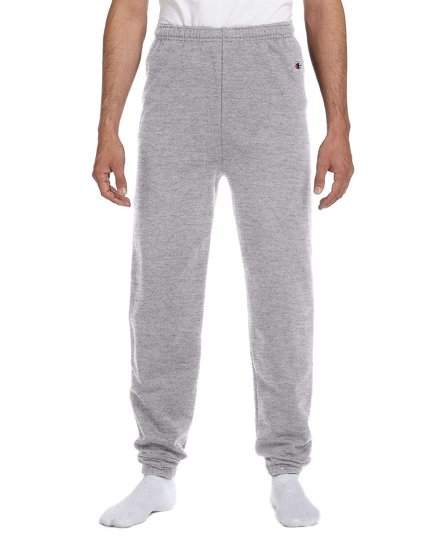 Champion 50/50 Adult Fleece Pant Sweatpants - No Pockets - Light Steel