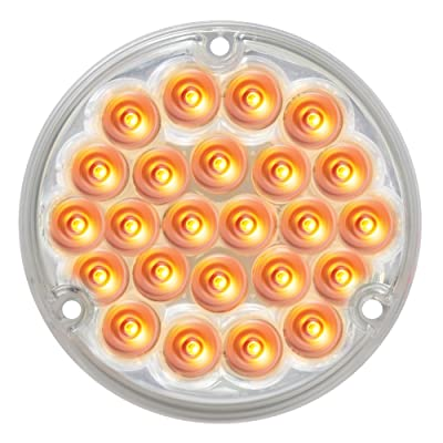 """Grand General 76151 Amber 4"""" 24-LED Stop/Turn/Tail Load Light: Automotive"""