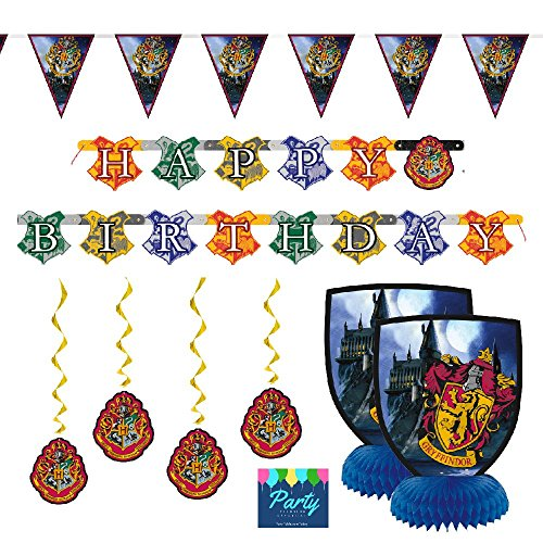 Harry Potter Party Decoration Kit by Party Tableware Today by Paper Tableware Today