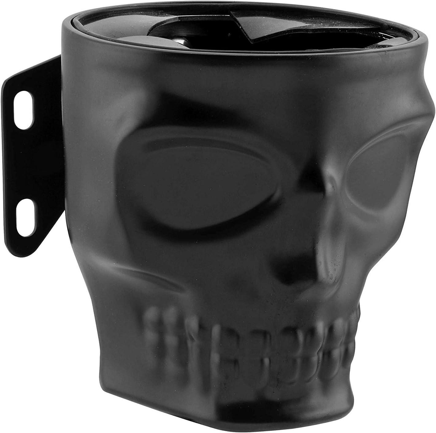 Flat Black Kruzer Kaddy KK-1030 Skull Switch Mount Kustom