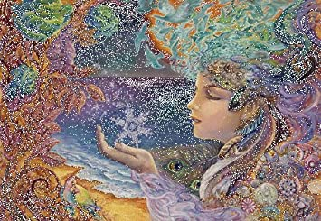 Amazon masterpieces snow flake jigsaw puzzle art by masterpieces snow flake jigsaw puzzle art by josephine wall 500 piece voltagebd