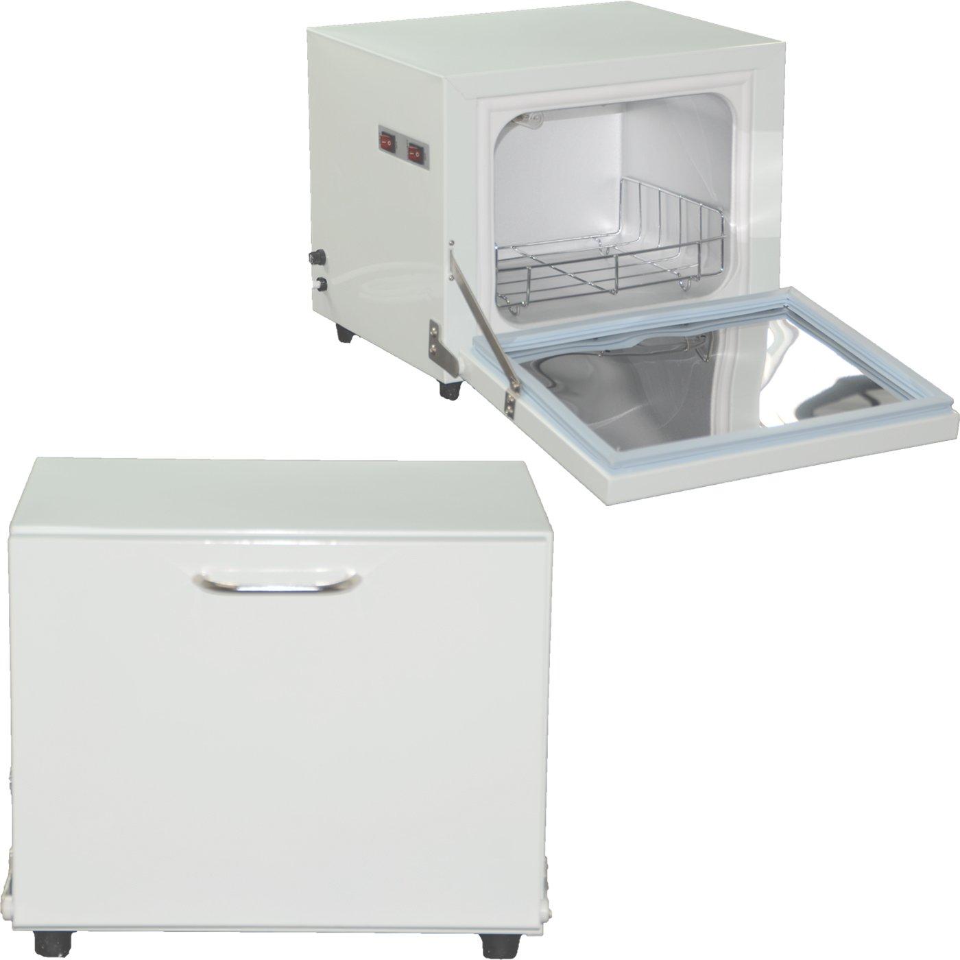 Compact 2-in-1 Towel Warmer & Ultraviolet Sterilizer Cabinet