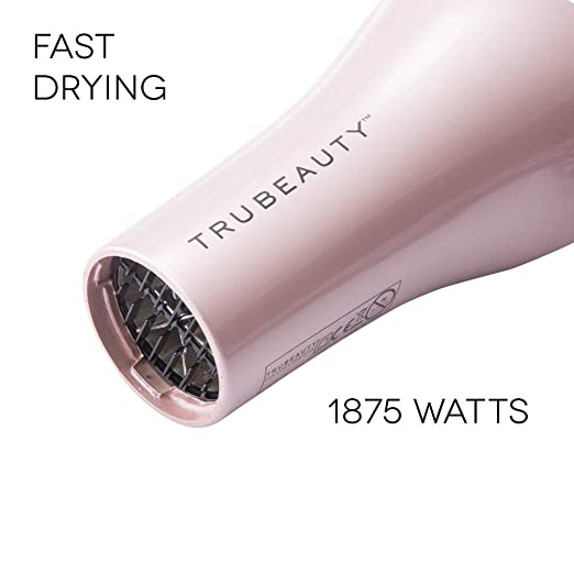 Amazon.com: Ionic Pro Luxe Hair Dryer By Tru Beauty | Ion Generated Technology, Multiple Speed & Heat Settings & Convenient Use | Powerful 1875W Motor For ...