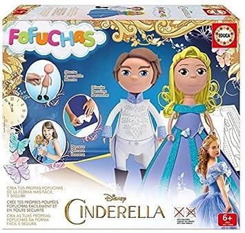Educa Borrás Fofuchas - Set con Cenicienta y Príncipe 16457: Amazon.es: Juguetes y juegos