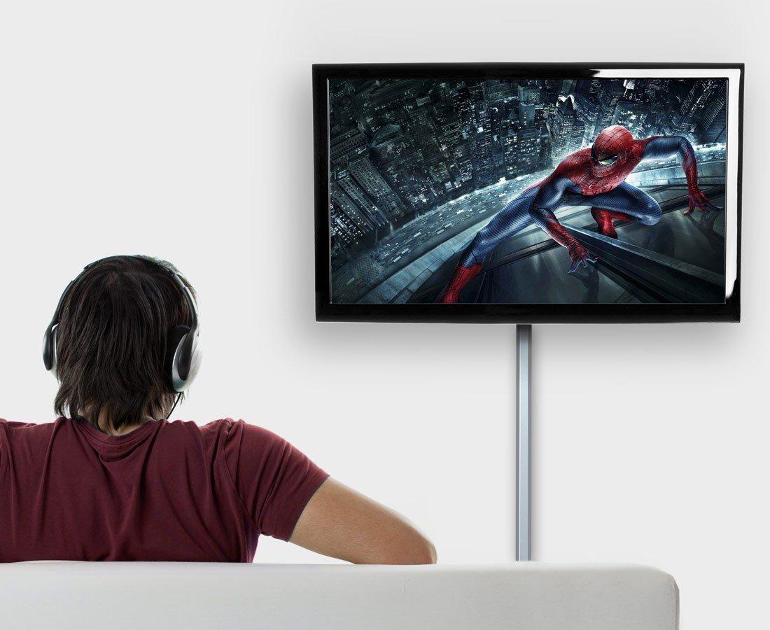 RICOO ALU Clip Kabelkanal für TV Wandhalterung: Amazon.de: Elektronik
