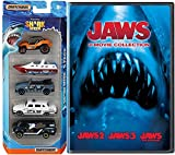 Jaws 3-Movie Collection part 1/2/3 DVD & Matchbox Shark Week Exclusive Discovery Channel 2 Disc set 5 car Special Edition set Movie pack Set