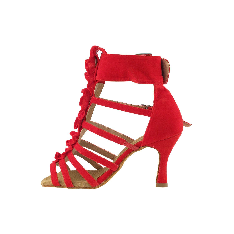 50 Shades RED Ballroom Latin Dance Shoes for Women Ballroom Salsa Wedding Clubing Swing