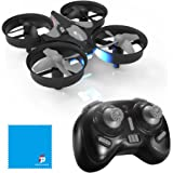 JJRC H36 Mini Drone 2.4G 4CH 6Axis Gyro Headless Mode Remote Control RC Quadcopter RTF One-key Return (Black)
