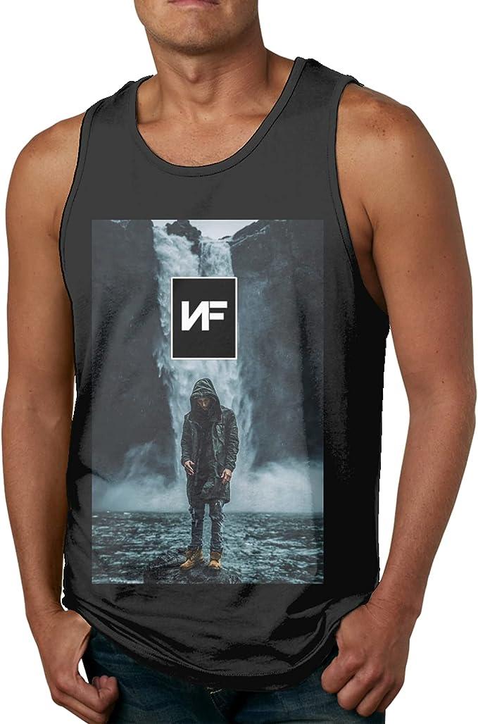 EDGHUOEIH NF Rapper Logo - Camiseta deportiva para hombre ...