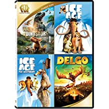 Walking With Dinosaurs/Ice Age/Ice Age: The Meltdown/Delgo Quad