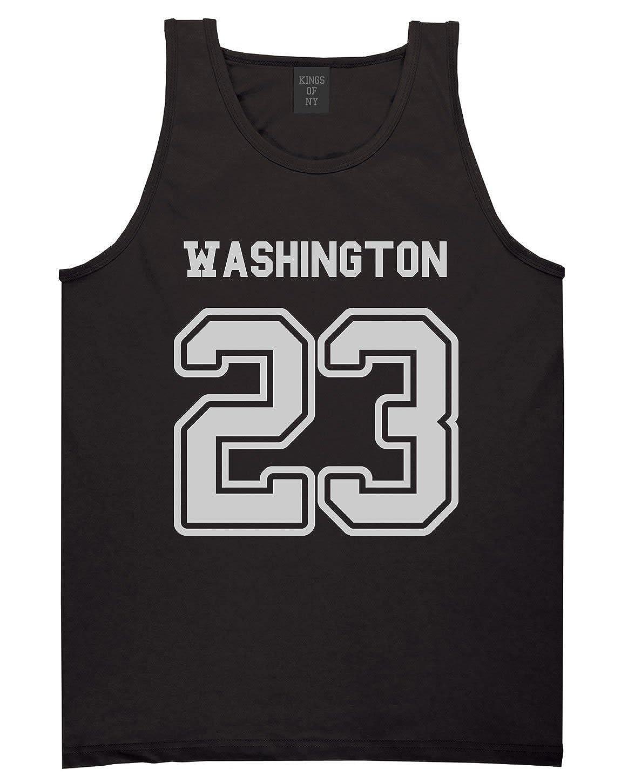 Sport Style Washington 23 Team State Jersey Mens Tank Top