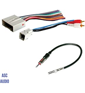 asc audio car stereo wire harness and antenna adapter to install an  aftermarket radio for some