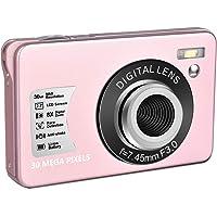 Digital Camera HD 1080P Vlogging Camera 30 MP Mini Cheap Camera 2.7 Inch LCD Screen Camera with 8X Digital Zoom Compact…