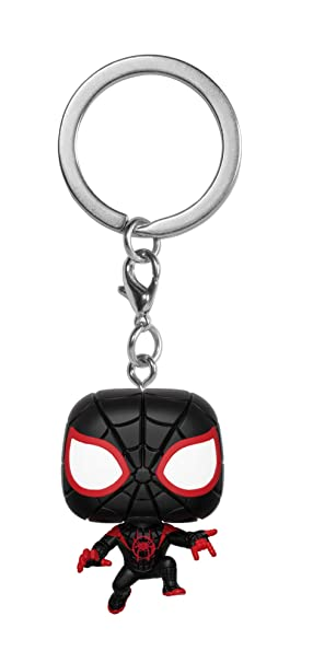 Funko Pop! Animated Spider-Man - Keychain Miles Morales ...