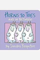 Horns To Toes (Boynton Board Books (Simon & Schuster)) Board book