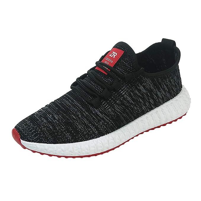 Zapatillas Hombres Deporte Running,JiaMeng Zapatos de Malla ...