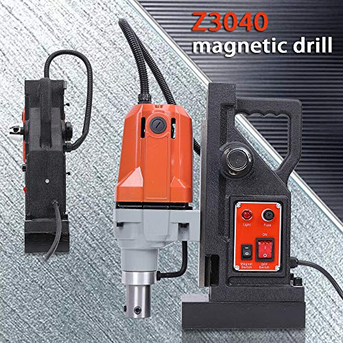 TFCFL 1100W Magnetic Drill Press+Steel Dragon Tools 550 RPM 50mm Boring 12000N