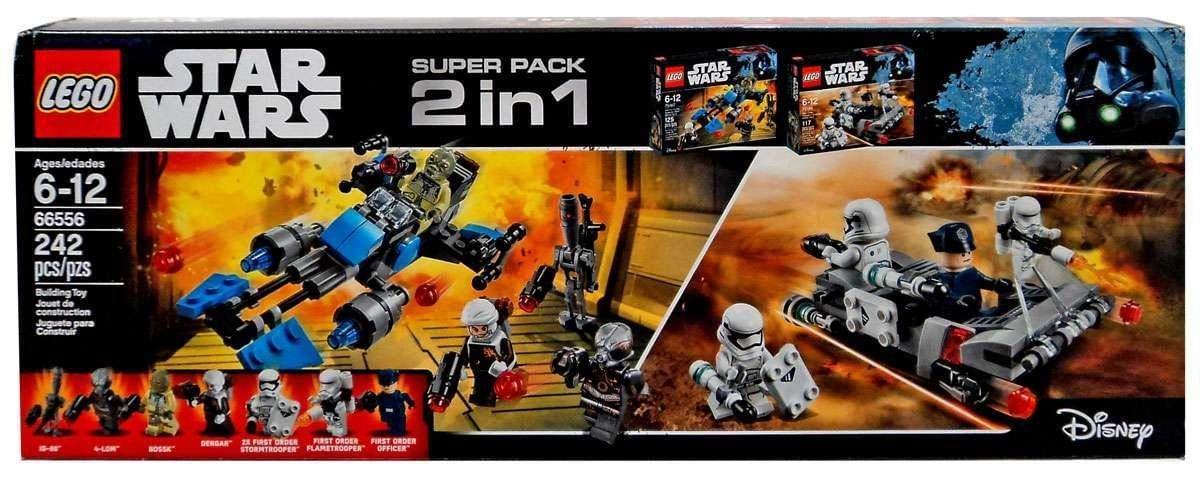 LEGO 2 in 1 Star Wars 66556 Building Set