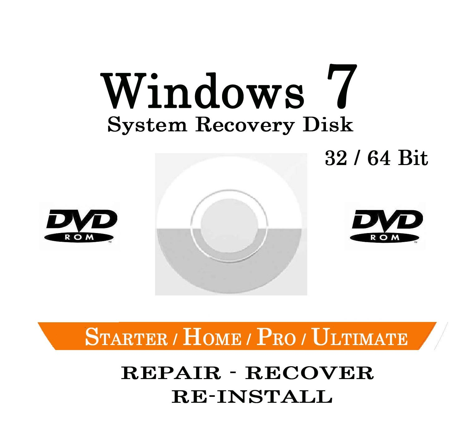 how to recover windows 7 professional