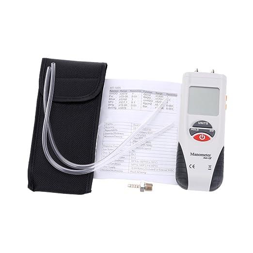 Manometer Hti Digital Luftdruckmesser Und Differenzdruckmesser Hvac Gasdruckprüfer Gewerbe Industrie Wissenschaft