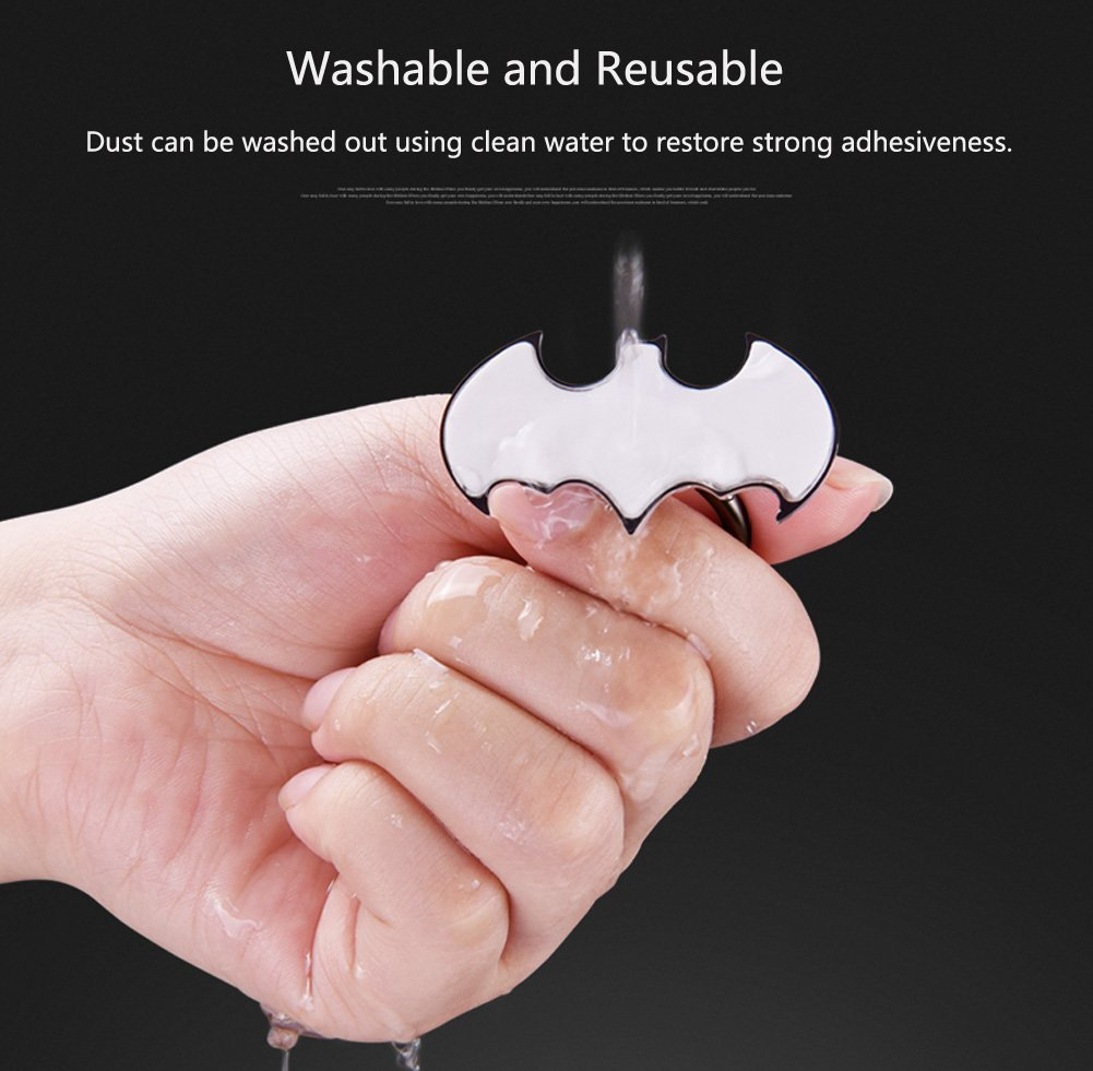 Halova Phone Ring Holder Batman Universal 360 Rotation Scrap Gold Simple Recovery From Circuit Board Fingers Cellphone Metal Stand Finger Grip Kickstand Anti Drop Mount For Iphone