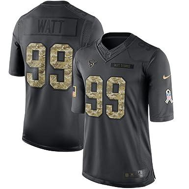 To J Football 2016 Watt Anthracite Texans Bekleidung Amazon Xxxl Size Service 56 Shirt American Salute j Game 99 Houston Jersey Mens Trikot de
