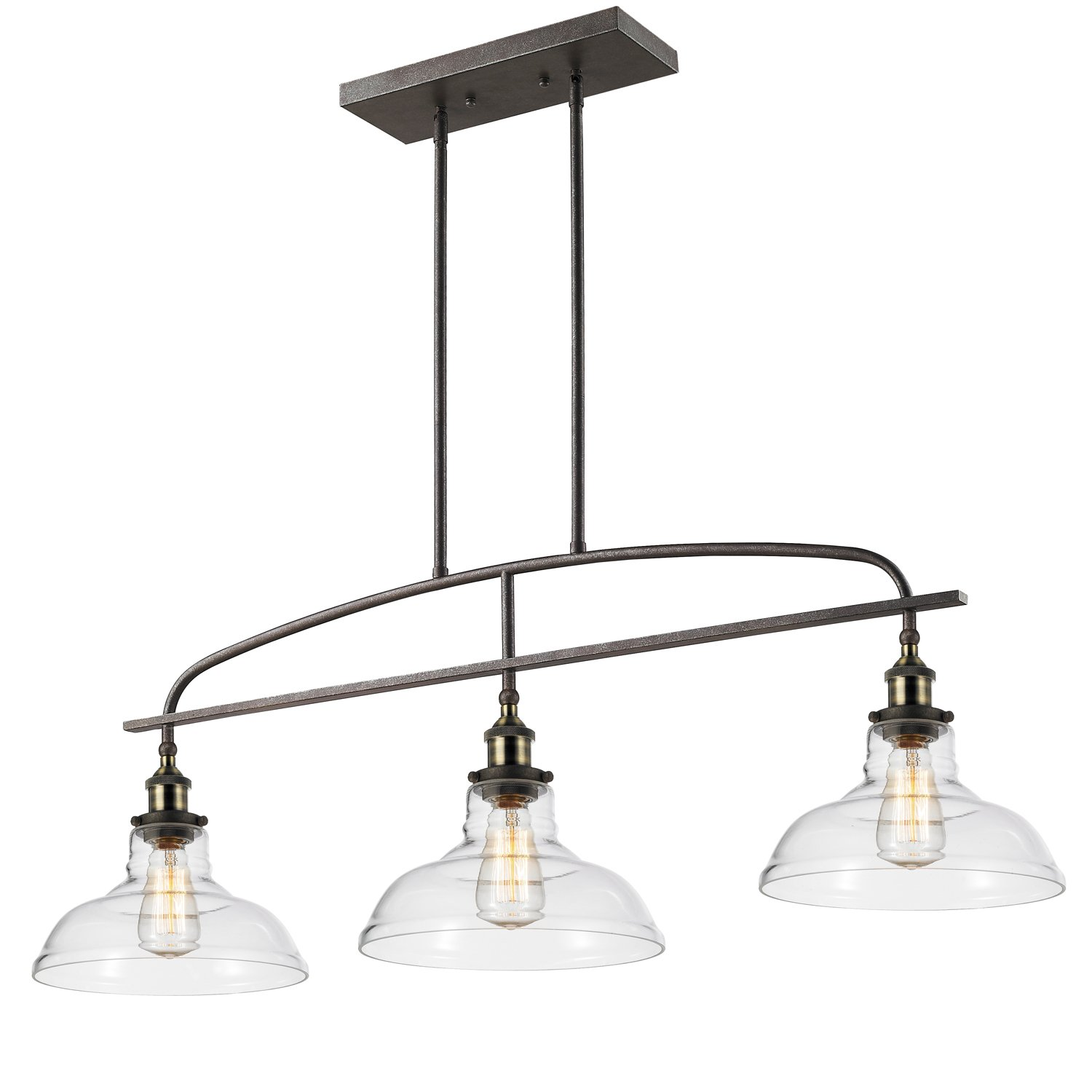 CLAXY Ecopower kitchen Linear island Pendant Lighting Vintage Lamp