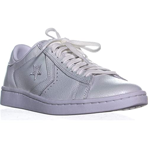 394b818c9c58 Converse PRO Leather LP OX Trainers Women White Silver - 3 - Low top  Trainers