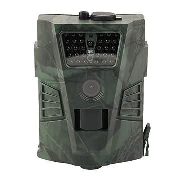 Vida Silvestre Trampa cámara de caza Cámara de caza HD con visión nocturna por infrarrojos,