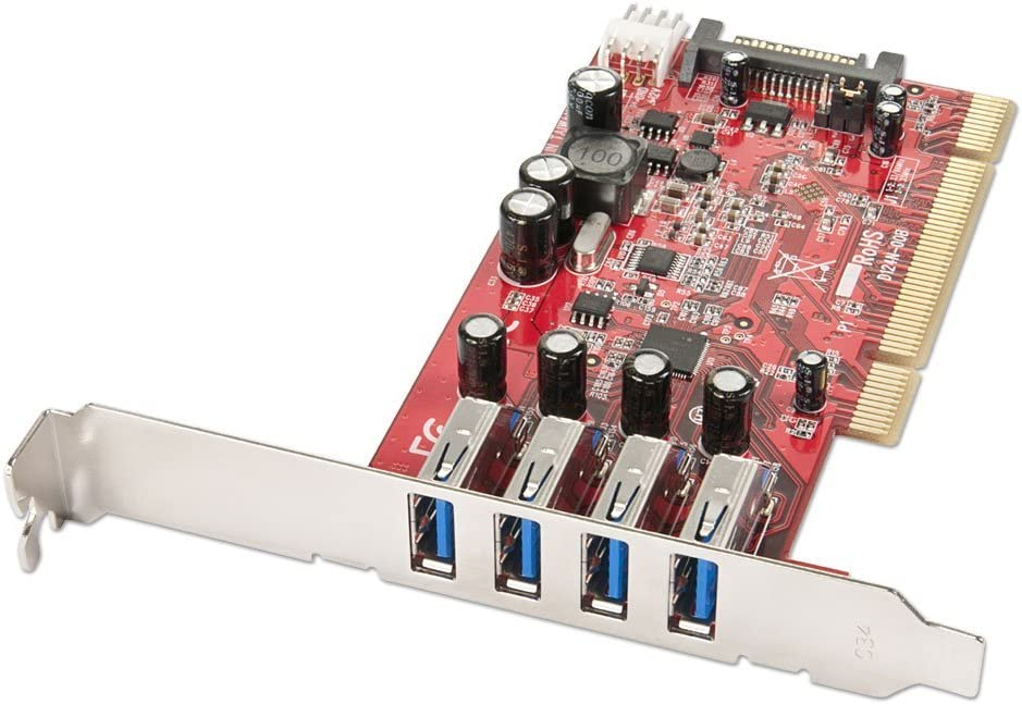 LINDY 4 Port USB 3.0 Card PCI