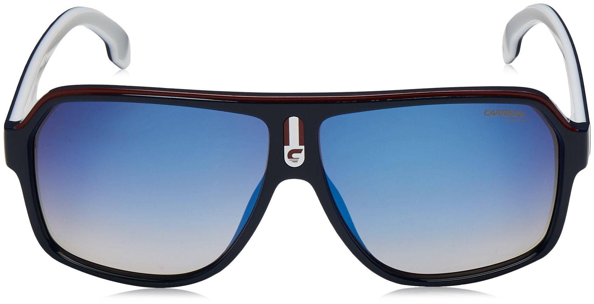 374edf3ef2dd Carrera Men's 1001/s Aviator Sunglasses, Blue RED, 62 mm | Jodyshop