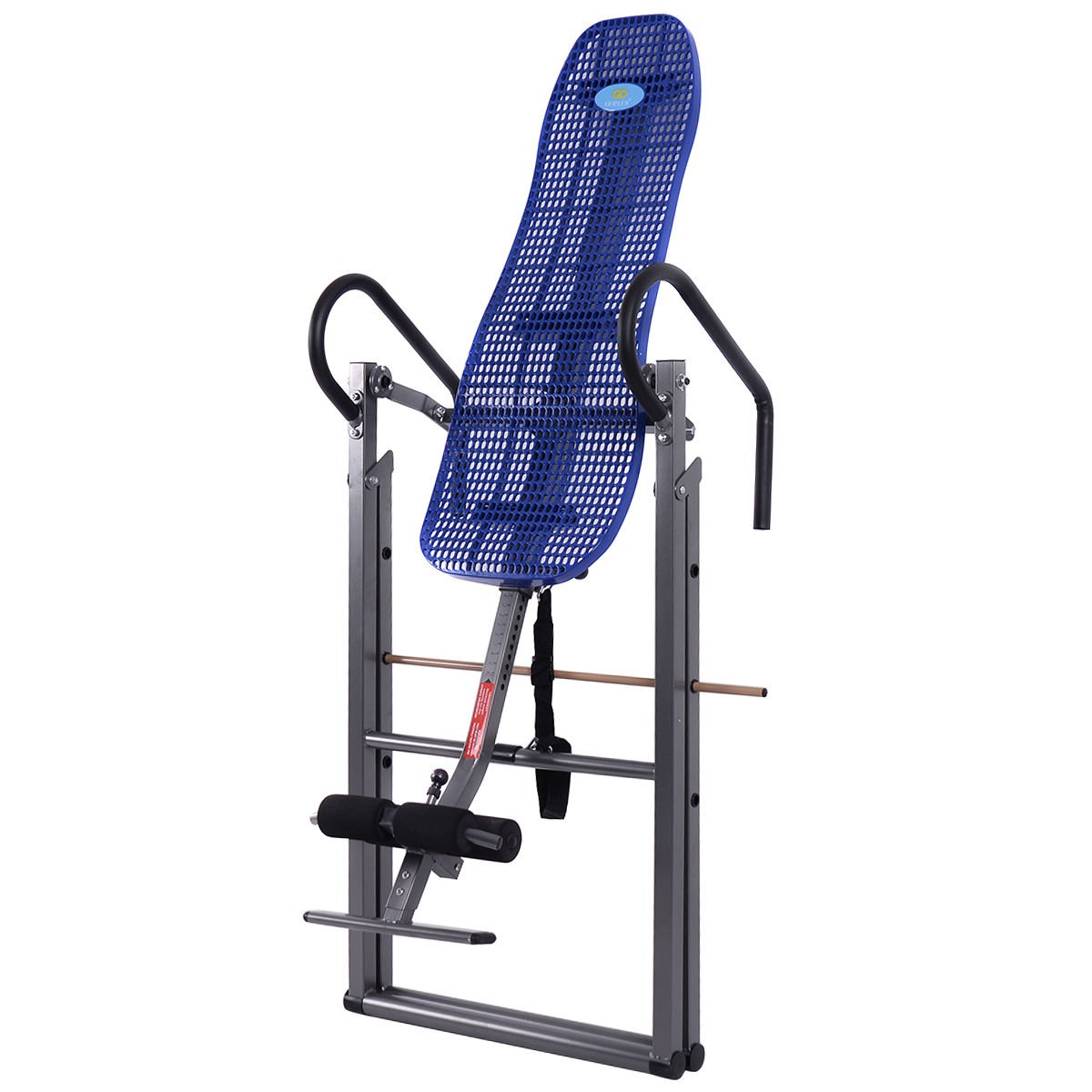 New Foldable ABS Inversion Table Gravity Therapy Back Pain Fitness Reflexology Blue by MTN Gearsmith (Image #4)