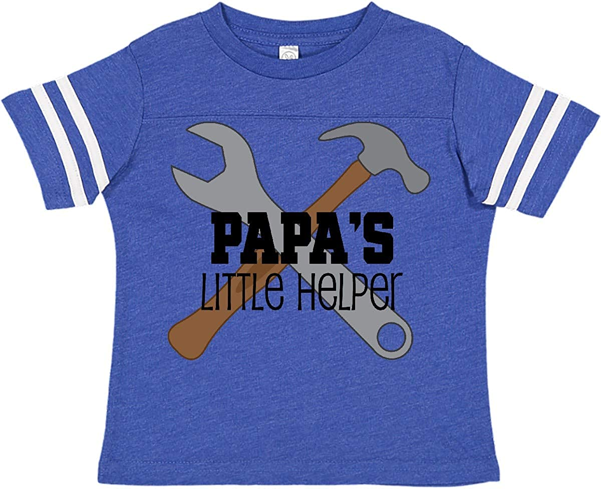 inktastic Papas Little Helper Toddler T-Shirt